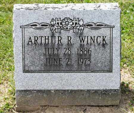 WINCK, ARTHUR R - Richland County, Ohio | ARTHUR R WINCK - Ohio Gravestone Photos