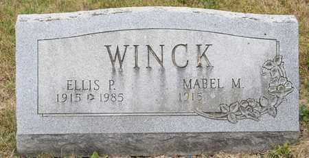 WINCK, ELLIS P - Richland County, Ohio | ELLIS P WINCK - Ohio Gravestone Photos