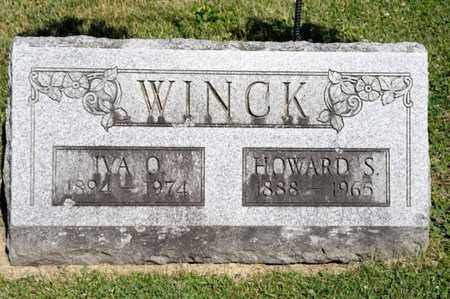WINCK, HOWARD S - Richland County, Ohio | HOWARD S WINCK - Ohio Gravestone Photos