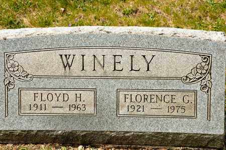 WINELY, FLORENCE G - Richland County, Ohio | FLORENCE G WINELY - Ohio Gravestone Photos