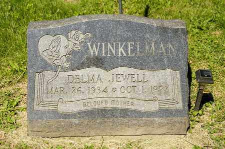 HARVEY WINKELMAN, DELMA JEWELL - Richland County, Ohio | DELMA JEWELL HARVEY WINKELMAN - Ohio Gravestone Photos