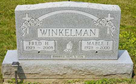 WINKELMAN, MABLE I - Richland County, Ohio | MABLE I WINKELMAN - Ohio Gravestone Photos