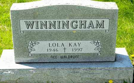 WINNINGHAM, LOLA KAY - Richland County, Ohio | LOLA KAY WINNINGHAM - Ohio Gravestone Photos
