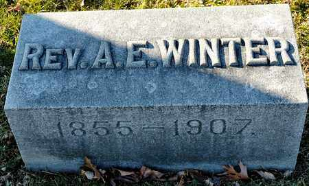 WINTER, A E - Richland County, Ohio | A E WINTER - Ohio Gravestone Photos