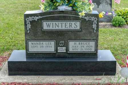 WINTERS, H BRUCE - Richland County, Ohio | H BRUCE WINTERS - Ohio Gravestone Photos