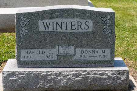 WINTERS, DONNA M - Richland County, Ohio | DONNA M WINTERS - Ohio Gravestone Photos