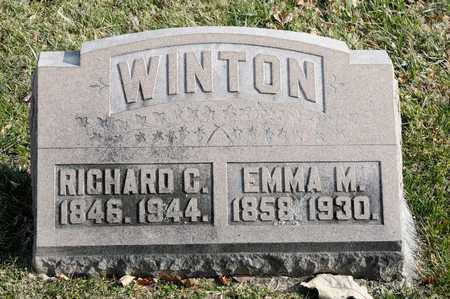 WINTON, RICHARD C - Richland County, Ohio | RICHARD C WINTON - Ohio Gravestone Photos