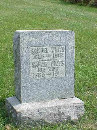 WIRTS, SAMUEL - Richland County, Ohio | SAMUEL WIRTS - Ohio Gravestone Photos