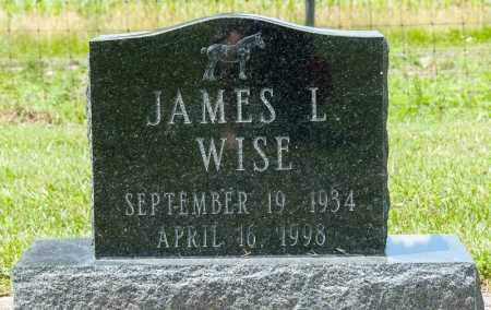 WISE, JAMES L - Richland County, Ohio | JAMES L WISE - Ohio Gravestone Photos