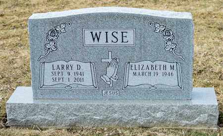 WISE, LARRY D - Richland County, Ohio | LARRY D WISE - Ohio Gravestone Photos