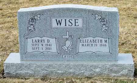 WISE, LARRY D - Richland County, Ohio | LARRY D WISE - Ohio Gravestone Photos