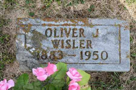 WISLER, OLIVER J - Richland County, Ohio | OLIVER J WISLER - Ohio Gravestone Photos
