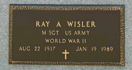 WISLER, RAY A - Richland County, Ohio | RAY A WISLER - Ohio Gravestone Photos