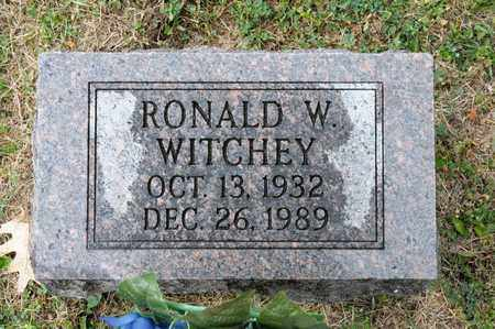 WITCHEY, RONALD W - Richland County, Ohio | RONALD W WITCHEY - Ohio Gravestone Photos