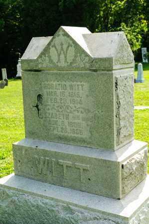 WITT, ELIZABETH - Richland County, Ohio | ELIZABETH WITT - Ohio Gravestone Photos