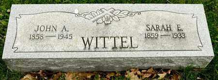 WITTEL, JOHN A - Richland County, Ohio | JOHN A WITTEL - Ohio Gravestone Photos