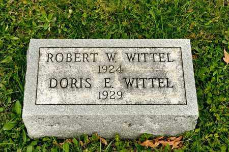 WITTEL, ROBERT W - Richland County, Ohio | ROBERT W WITTEL - Ohio Gravestone Photos