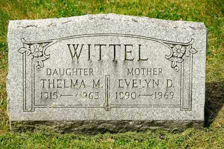 WITTEL, THELMA M - Richland County, Ohio | THELMA M WITTEL - Ohio Gravestone Photos