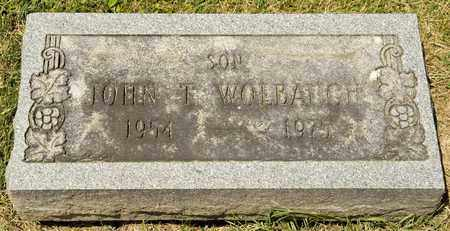 WOLBAUGH, JOHN T - Richland County, Ohio | JOHN T WOLBAUGH - Ohio Gravestone Photos