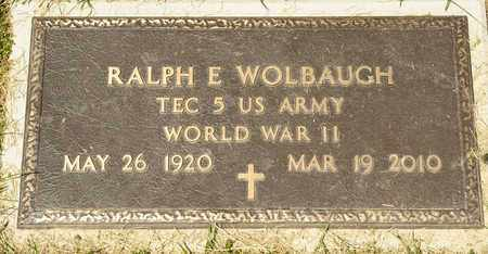 WOLBAUGH, RALPH E - Richland County, Ohio | RALPH E WOLBAUGH - Ohio Gravestone Photos