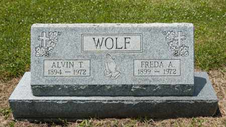 WOLF, ALVIN T - Richland County, Ohio | ALVIN T WOLF - Ohio Gravestone Photos