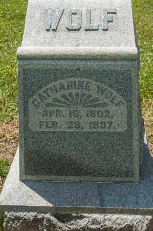 WOLF, CATHARINE - Richland County, Ohio | CATHARINE WOLF - Ohio Gravestone Photos