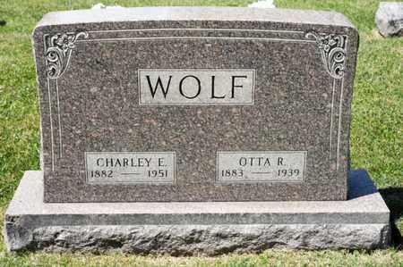 WOLF, OTTA R - Richland County, Ohio | OTTA R WOLF - Ohio Gravestone Photos
