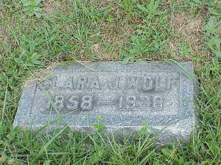 WOLF, CLARA J. - Richland County, Ohio | CLARA J. WOLF - Ohio Gravestone Photos