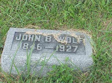 WOLF, JOHN B. - Richland County, Ohio | JOHN B. WOLF - Ohio Gravestone Photos