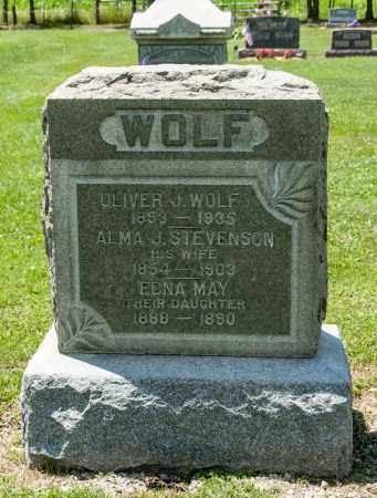 WOLF, EDNA MAY - Richland County, Ohio | EDNA MAY WOLF - Ohio Gravestone Photos