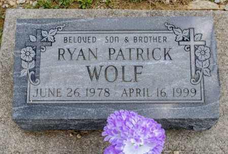 WOLF, RYAN PATRICK - Richland County, Ohio | RYAN PATRICK WOLF - Ohio Gravestone Photos