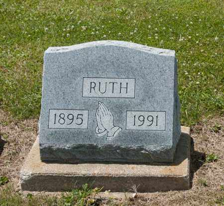 WOLF, RUTH - Richland County, Ohio | RUTH WOLF - Ohio Gravestone Photos