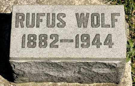 WOLF, RUFUS - Richland County, Ohio | RUFUS WOLF - Ohio Gravestone Photos