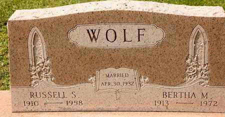 WOLF, BERTHA M - Richland County, Ohio | BERTHA M WOLF - Ohio Gravestone Photos