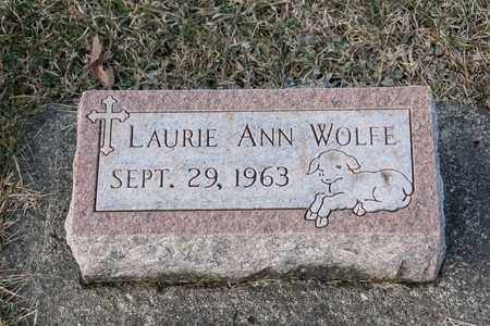 WOLFE, LAURIE ANN - Richland County, Ohio | LAURIE ANN WOLFE - Ohio Gravestone Photos