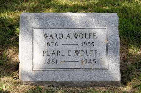 WOLFE, WARD A - Richland County, Ohio | WARD A WOLFE - Ohio Gravestone Photos