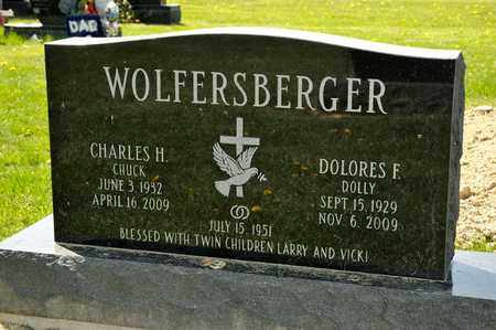 WOLFERSBERGER, DOLORES F - Richland County, Ohio | DOLORES F WOLFERSBERGER - Ohio Gravestone Photos