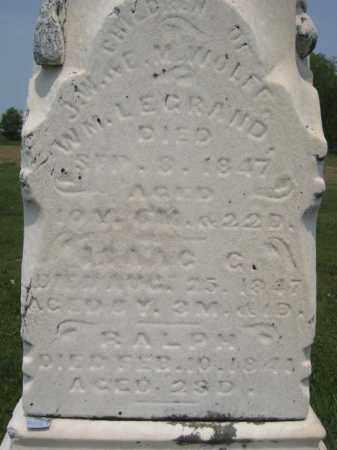 WOLFF, ISAAC C. - Richland County, Ohio | ISAAC C. WOLFF - Ohio Gravestone Photos
