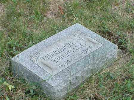 WOLFGANG, THEODORE M. - Richland County, Ohio | THEODORE M. WOLFGANG - Ohio Gravestone Photos