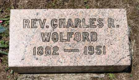 WOLFORD, CHARLES R - Richland County, Ohio | CHARLES R WOLFORD - Ohio Gravestone Photos