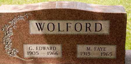 WOLFORD, G EDWARD - Richland County, Ohio | G EDWARD WOLFORD - Ohio Gravestone Photos