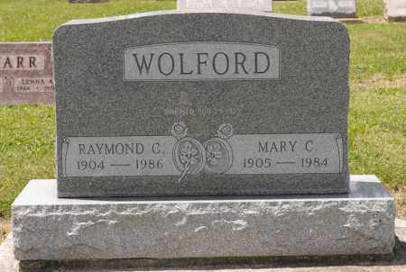 WOLFORD, MARY C - Richland County, Ohio | MARY C WOLFORD - Ohio Gravestone Photos