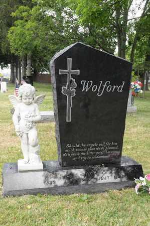 WOLFORD, SCOTT E - Richland County, Ohio | SCOTT E WOLFORD - Ohio Gravestone Photos