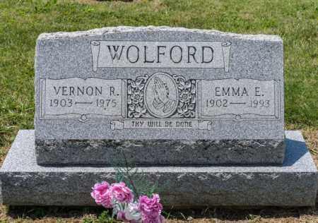 WOLFORD, EMMA E - Richland County, Ohio | EMMA E WOLFORD - Ohio Gravestone Photos