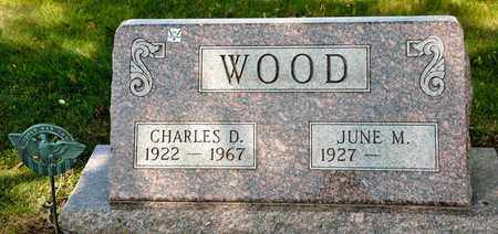 WOOD, CHARLES D - Richland County, Ohio | CHARLES D WOOD - Ohio Gravestone Photos