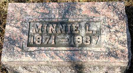 WOOD, MINNIE L - Richland County, Ohio | MINNIE L WOOD - Ohio Gravestone Photos