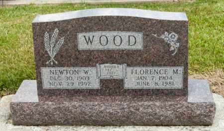 WOOD, FLORENCE M - Richland County, Ohio | FLORENCE M WOOD - Ohio Gravestone Photos