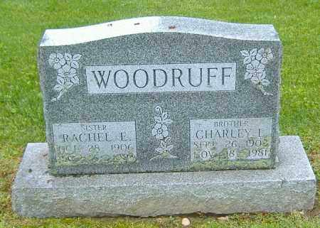 WOODRUFF, CHARLEY E. - Richland County, Ohio | CHARLEY E. WOODRUFF - Ohio Gravestone Photos