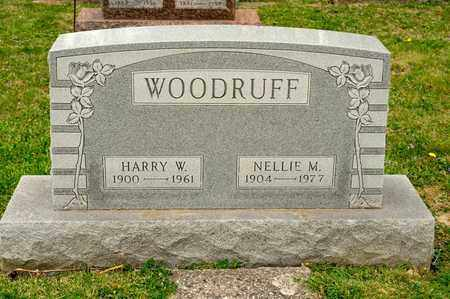 WOODRUFF, NELLIE M - Richland County, Ohio | NELLIE M WOODRUFF - Ohio Gravestone Photos