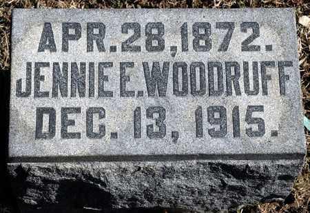 WOODRUFF, JENNIE E - Richland County, Ohio | JENNIE E WOODRUFF - Ohio Gravestone Photos